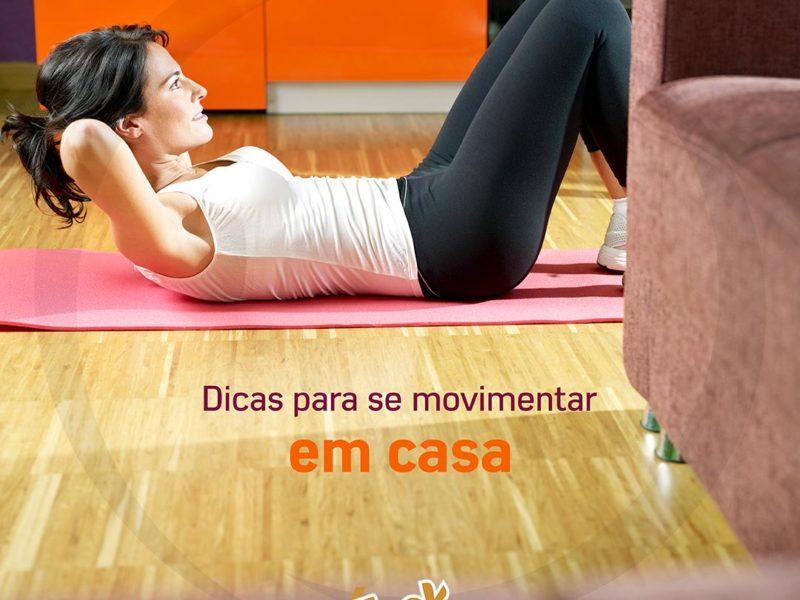 Dicas para começar a se exercitar em casa