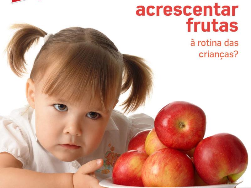 Fruta na rotina das crianças