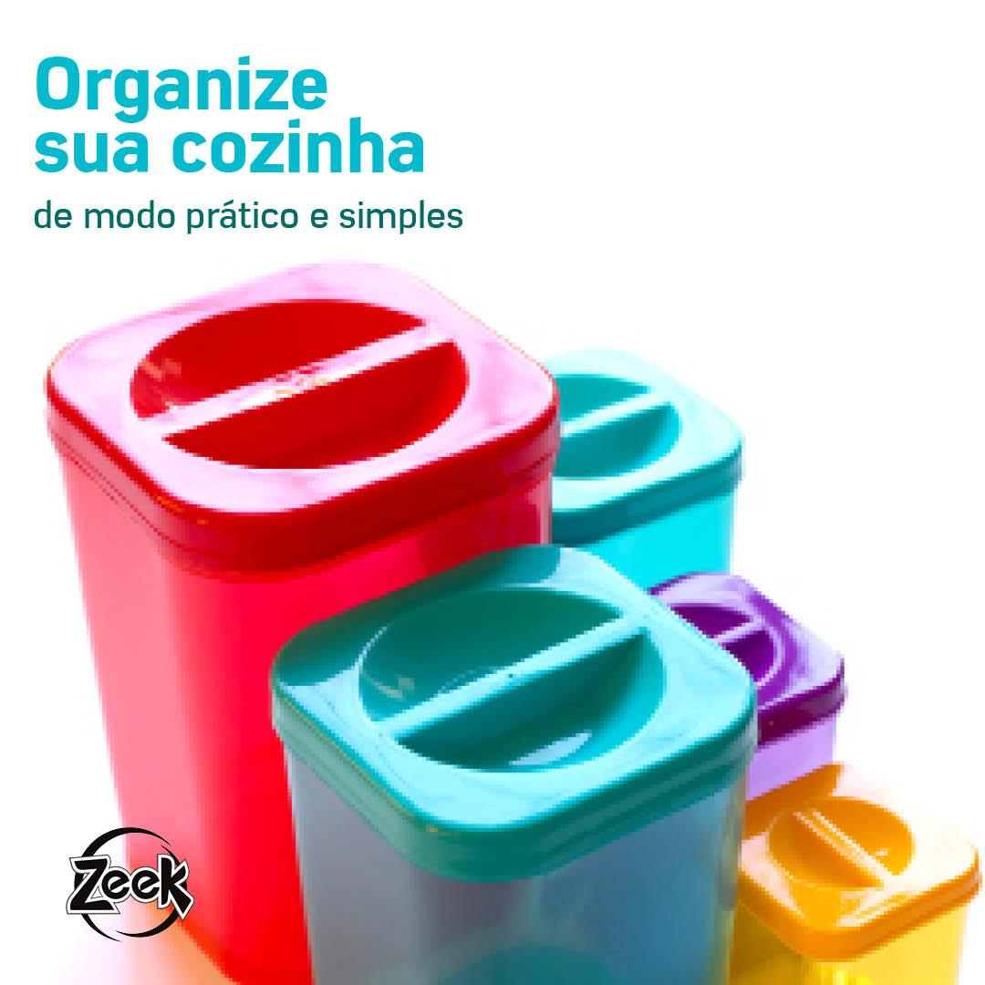 Organize sua cozinha